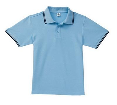 West Louis™ Solid Casual Polo Shirt Sky / L - West Louis