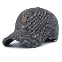 West Louis™ Thickened Baseball Cap Gray - West Louis