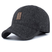 West Louis™ Thickened Baseball Cap Dark Gray - West Louis