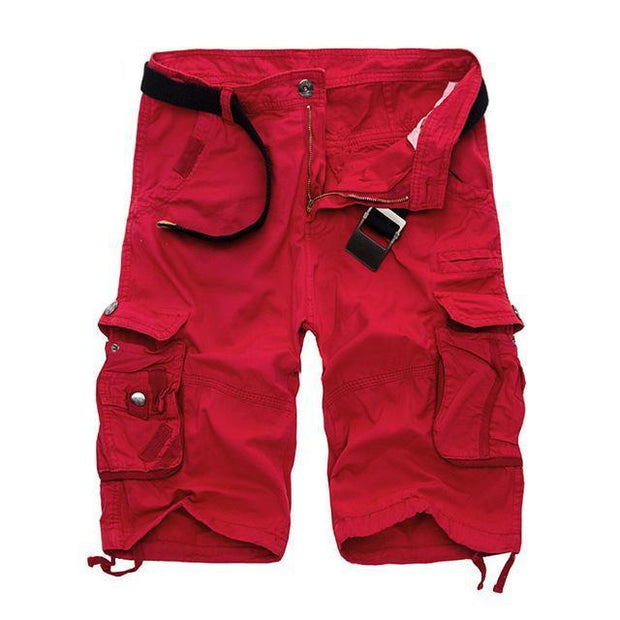 West Louis™ Cargo Loose Style Short red / 29 - West Louis