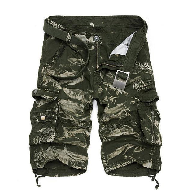 West Louis™ Cargo Loose Style Short green camo / 29 - West Louis