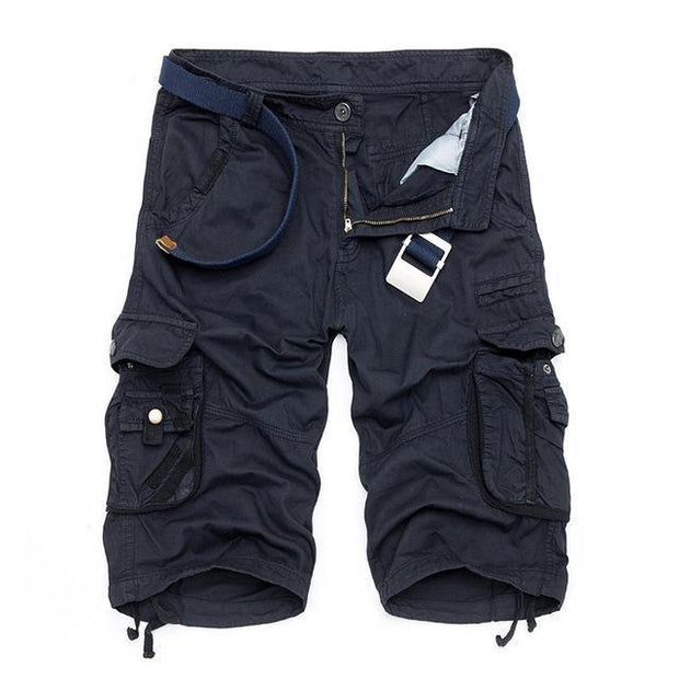 West Louis™ Cargo Loose Style Short dark blue / 29 - West Louis