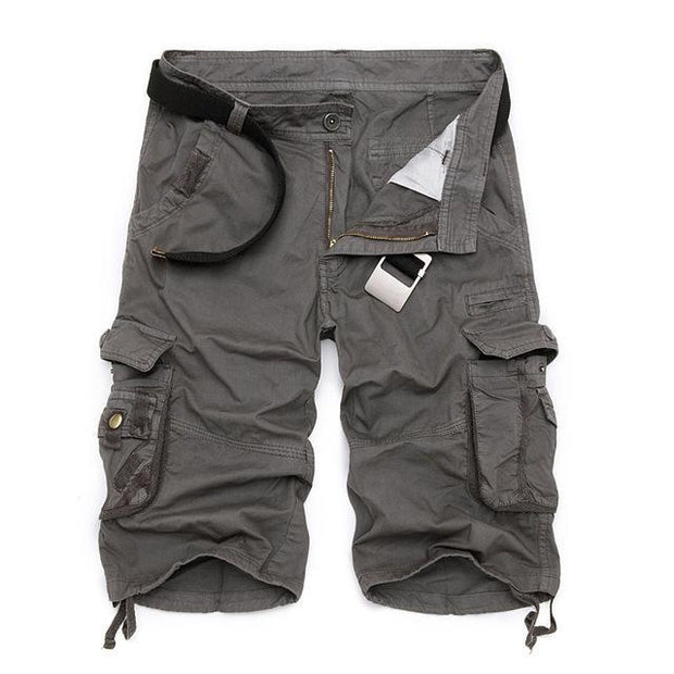 West Louis™ Cargo Loose Style Short grey / 29 - West Louis