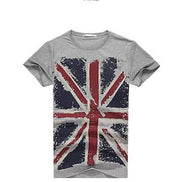 West Louis™ Hot England Style Slim Fit T-Shirts Grey / M - West Louis