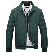 West Louis™ Winter Casual Man Slim Jacket Green / L - West Louis