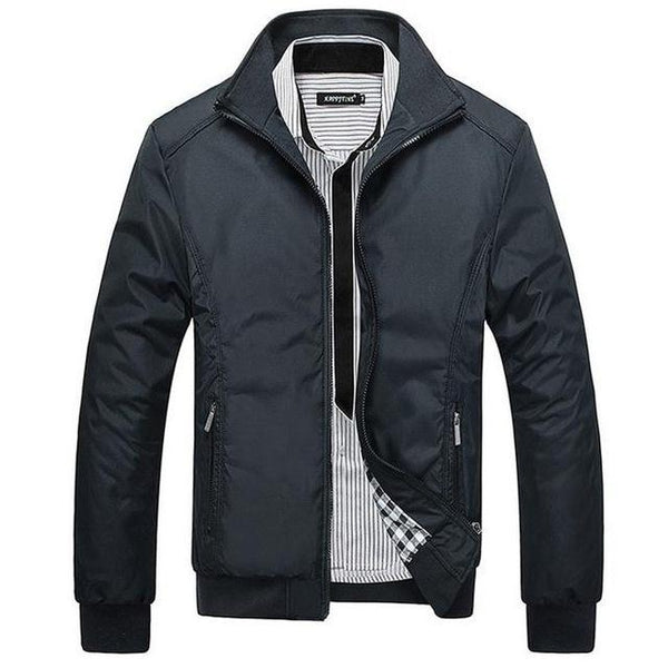 West Louis™ Winter Casual Man Slim Jacket