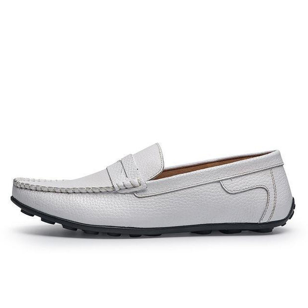 West Louis™ Handmade Genuine Leather Four Seasons Design White / 6.5 - West Louis