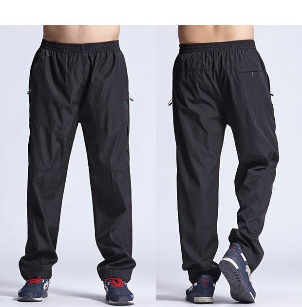 West Louis™ New Outside Mens Exercise Pants Black / L - West Louis