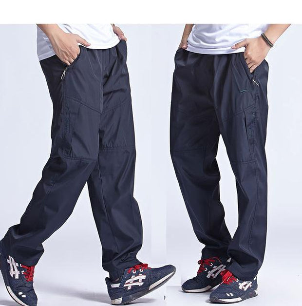 West Louis™ New Outside Mens Exercise Pants Blue / L - West Louis