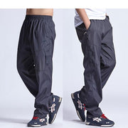 West Louis™ New Outside Mens Exercise Pants Gray / L - West Louis