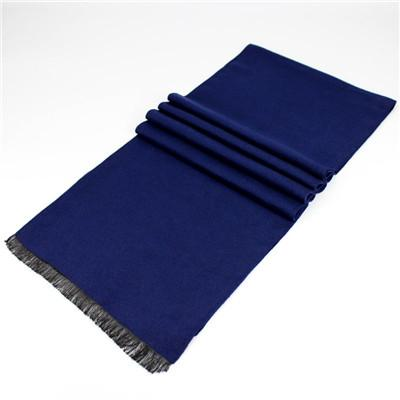 West Louis™ Neckerchief Modal Shawl High-grade Scarve Navy Blue - West Louis