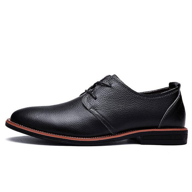West Louis™ Oxfords Genuine Leather Formal Shoes Black / 6 - West Louis