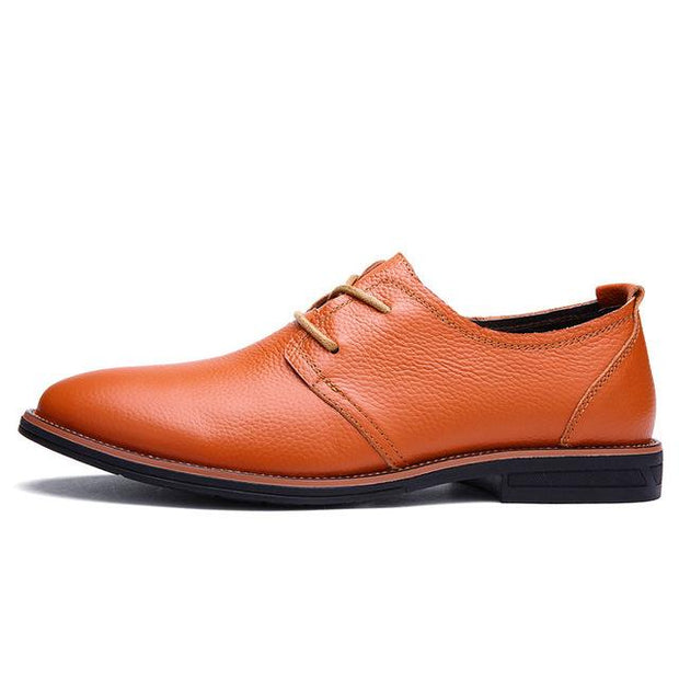 West Louis™ Oxfords Genuine Leather Formal Shoes Brown / 6 - West Louis