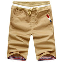 West Louis™ Harem Summer Shorts Khaki / M - West Louis