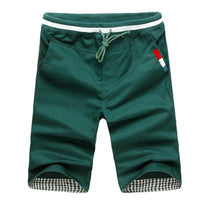 West Louis™ Harem Summer Shorts Dark Green / M - West Louis