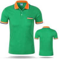 West Louis™ Cotton Casual Breathable Polo Shirt Green / S - West Louis