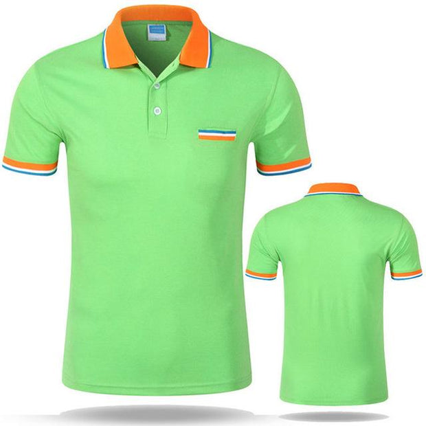 West Louis™ Cotton Casual Breathable Polo Shirt Fruit green / S - West Louis