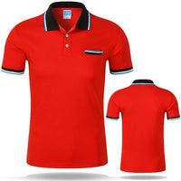 West Louis™ Cotton Casual Breathable Polo Shirt Red / S - West Louis
