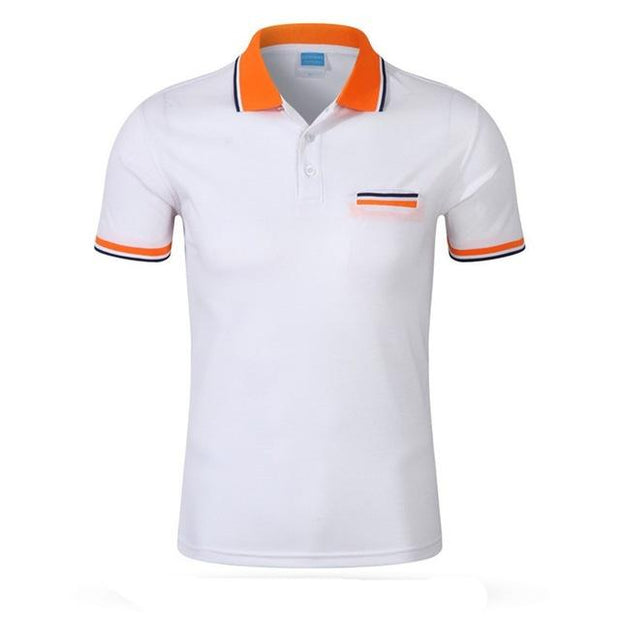 West Louis™ Cotton Casual Breathable Polo Shirt White / S - West Louis