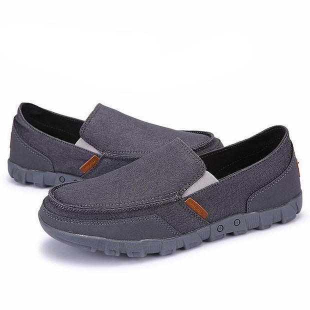 West Louis™ Comfortable Ultralight Lazy Slip-On Shoes Gray / 7 - West Louis