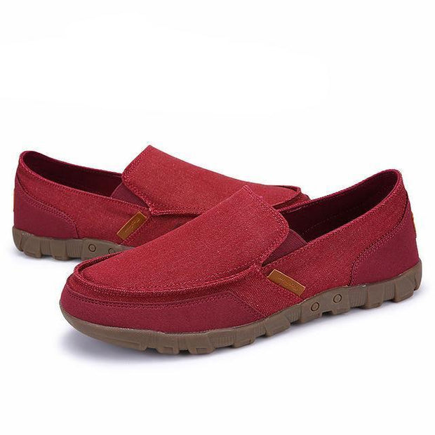 West Louis™ Comfortable Ultralight Lazy Slip-On Shoes Red / 7 - West Louis