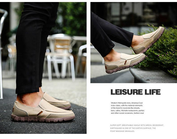 West Louis™ Comfortable Ultralight Lazy Slip-On Shoes  - West Louis