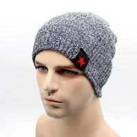 West Louis™ Star Beanie dark gray - West Louis