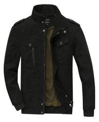 West Louis™ Spring Bomber Casual Jacket Black / XS - West Louis