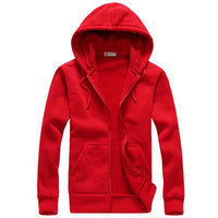 West Louis™ Autumn Cotton Sweatshirt Hoodie Red / S - West Louis