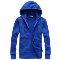 West Louis™ Autumn Cotton Sweatshirt Hoodie Blue / S - West Louis