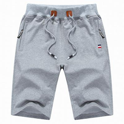 West Louis™ Casual Shorts Light Grey / M - West Louis