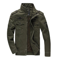 West Louis™ Air Force Style Coat Army green / XS - West Louis