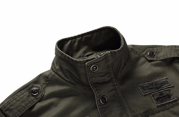 West Louis™ Air Force Style Coat  - West Louis