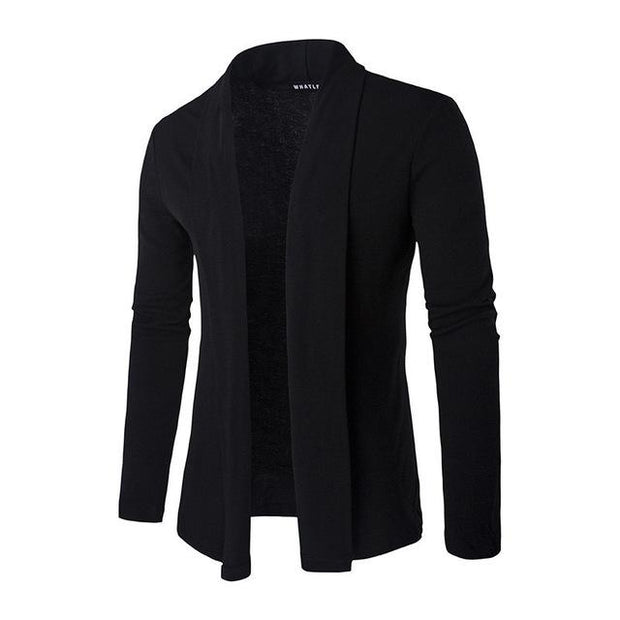 West Louis™ Knit Designers Cardigan Men Pullover Black / M - West Louis