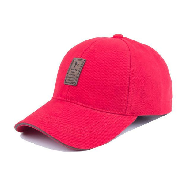 West Louis™ Unisex Brand Fashion Baseball Cap Red - West Louis