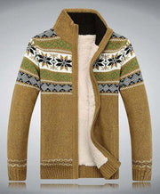 West Louis™ Cardigan Wool Sweater Yellow / M - West Louis