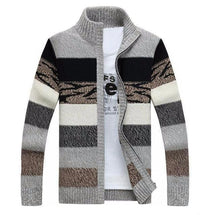 West Louis™ Knitted Sweater Cardigan Gray / M - West Louis