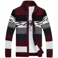 West Louis™ Knitted Sweater Cardigan Red / M - West Louis