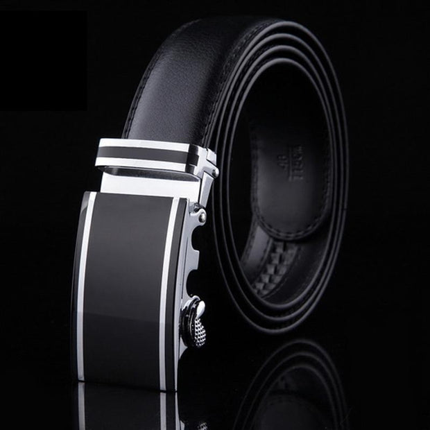West Louis™ Formal Genuine Leather Luxury Belt  - West Louis