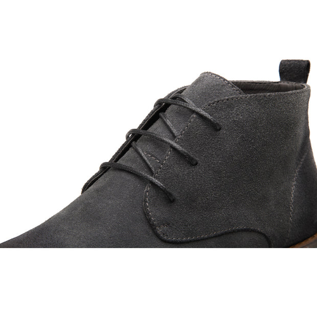 West Louis™ Leather Oxford Lace Up Formal Dress Boots