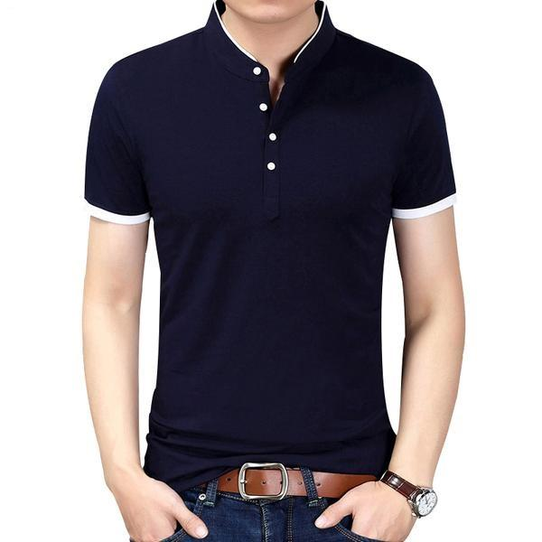 West Louis™ Casual Polo Shirts  - West Louis