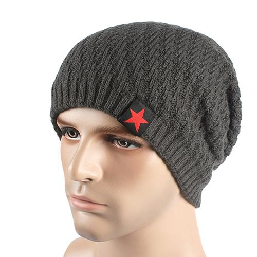 West Louis™ Knitted Beanie gray - West Louis