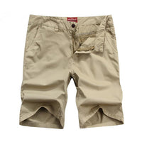 West Louis™ Bermuda Washing Multi-Pocket Men Short Khaki / 29 - West Louis