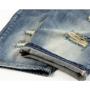 West Louis™ Jogger Pop Jeans  - West Louis