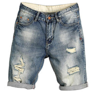 West Louis™ Jogger Pop Jeans 28 / Blue - West Louis