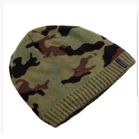 West Louis™ Camo Beanie army green - West Louis