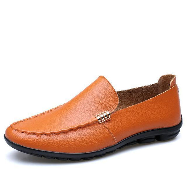 West Louis™ Easy Set Foot Lazy Shoes Orange / 10 - West Louis