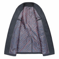 West Louis™ Winter Woolen Long Peacoat  - West Louis