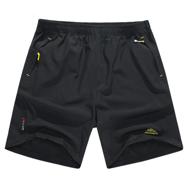 West Louis™ Breathable Beach Shorts Black / L - West Louis