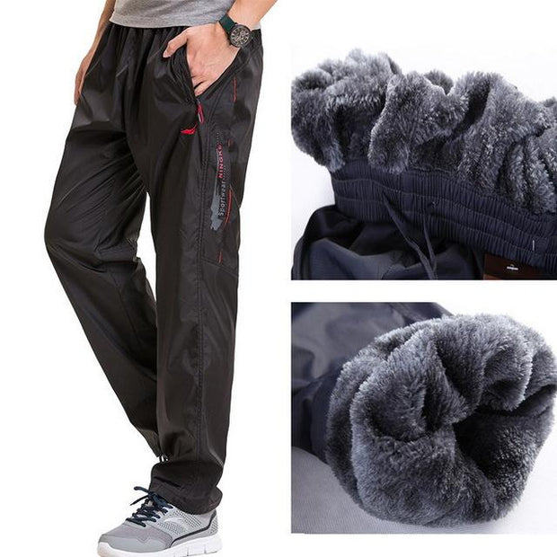 West Louis™ Fleece Thick Pants Black / L - West Louis